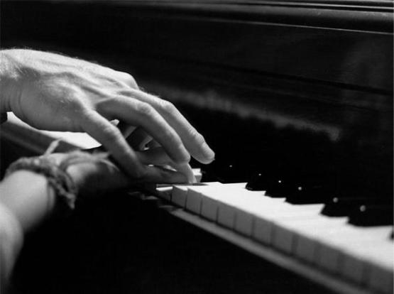 Avrei voluto suonare il pianoforte...